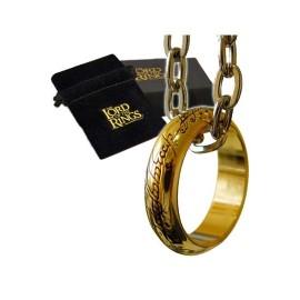 Le Seigneur des Anneaux réplique Anneau Unique (plaqué or)