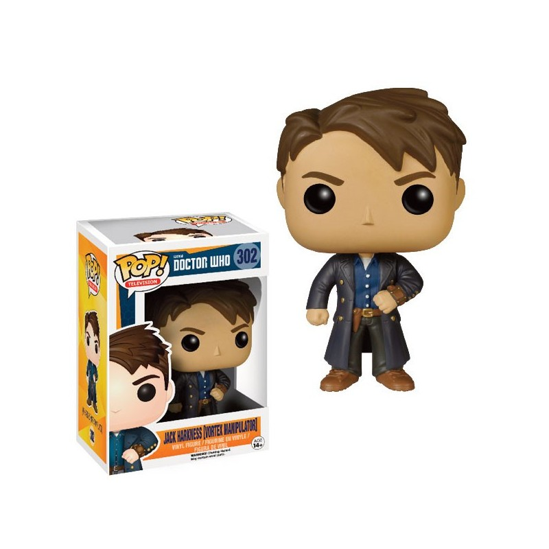 DOCTOR WHO - POP Vinyl 302 Jack Harkness Vortex Manipulator Ltd Ed !