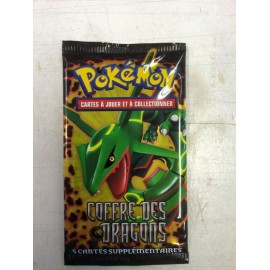 BOOSTER pokemon EN FRANCAIS COFFRE DES DRAGONS RAYQUAZA