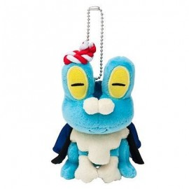 OFFICIEL POKEMON CENTER PELUCHE PLUSH PORTE CLES grenousse Keromatsu Original from Japan