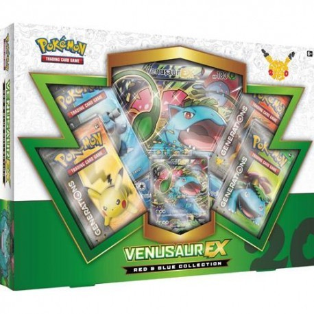 COFFRET BOOSTERS pokemon 20th anniversaire Coffret ROUGE ET BLEU Collection DRACAUFEU EX Charizard EX GENERATIONS