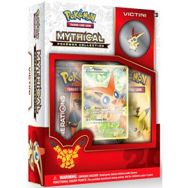 COFFRET BOOSTERS pokemon MYTHICAL 20th anniversaire pins box VICTINI GENERATIONS