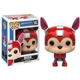 RUSH MEGAMAN POP! Vinyl figurine RUSH Version 9 cm