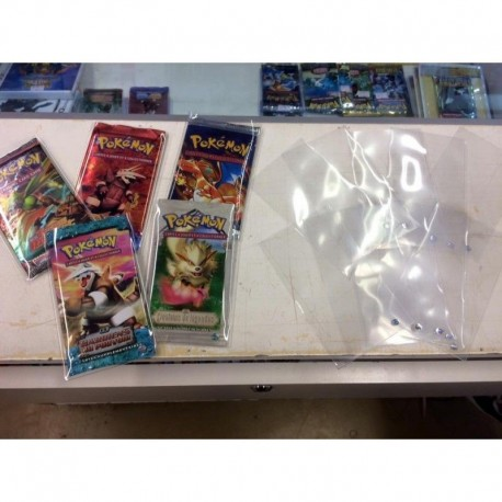 PROTECTION ULTRA PRO BOOSTER POKEMON LOT DE 10 PIECE