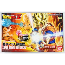 Bandai FIGURE-RISE DRAGON BALL Z STANDARD SUPER SAIYAN SON GOKU Maquette Model Kit