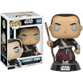 Star Wars Episode POP Vinyl Bobble Head CHIRRUT IMWE 10 cm