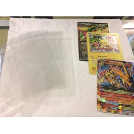 PROTECTION CARTE JUMBO POKEMON LOT DE 100 PIECE