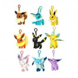OFFICIEL TOMY PELUCHE PLUSH PORTE CLEE EVOLI EVOLUTION