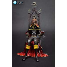 CAPITAN HARLOCK ALBATOR - Captain Harlock with Throne Pvc Figure HL Pro High Dream
