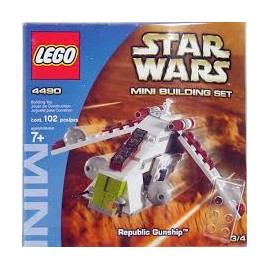 star wars LEGO mini building set 4487 notice / mode emploi