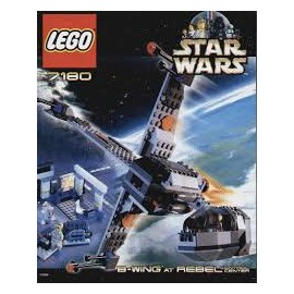 star wars LEGO b-wing at rebel control center 7180 notice / mode emploi
