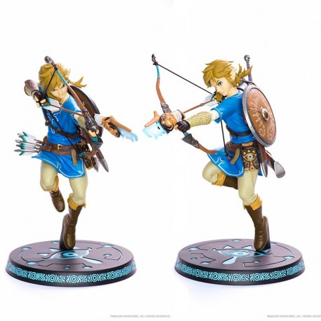 First For Figures The Legend of Zelda Figurine Link Breath of the Wild-Neuf