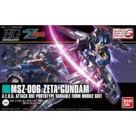 BANDAI GUNDAM HG 1/144 ZETA GUNDAM Plastic Model Kit