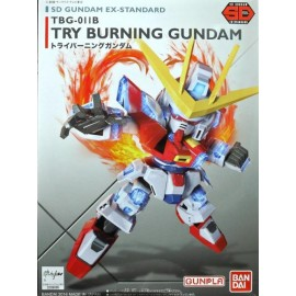 BANDAI GUNDAM SD GUNDAM EX-STD 011 TRY BURNING GUNDAM Plastic Model Kit